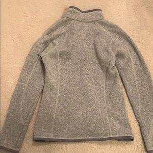 Patagonia Tops - Patagonia grey quarter Better Sweater